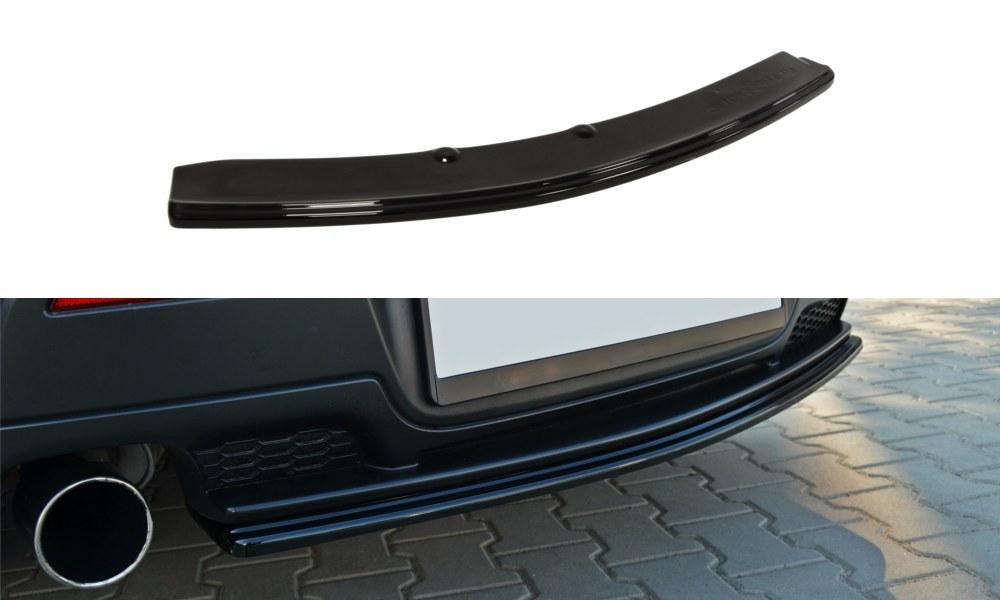 Splitter Tylny Środkowy Mazda 3 MPS MK1 Przedlift (Bez dyfuzora) - GRUBYGARAGE - Sklep Tuningowy